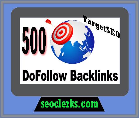 I will Create 500 High Quality Manually Dofollow Backlinks