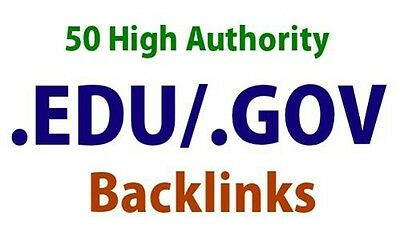 Create 50 Edu. Gov Backlink With Excel File And Login Details