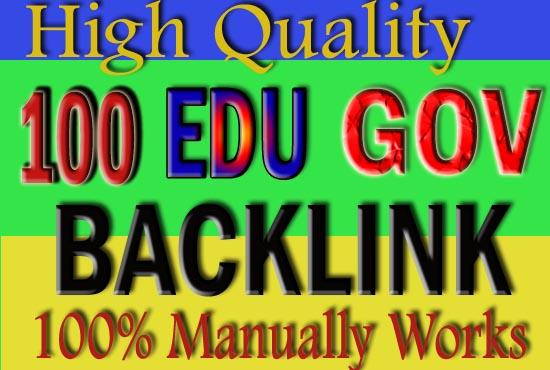Create 100 Edu. Gov Backlinks With Excel File And Login Details