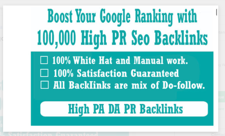 I will boost your google ranking with 100,000 high PR seo backlinks