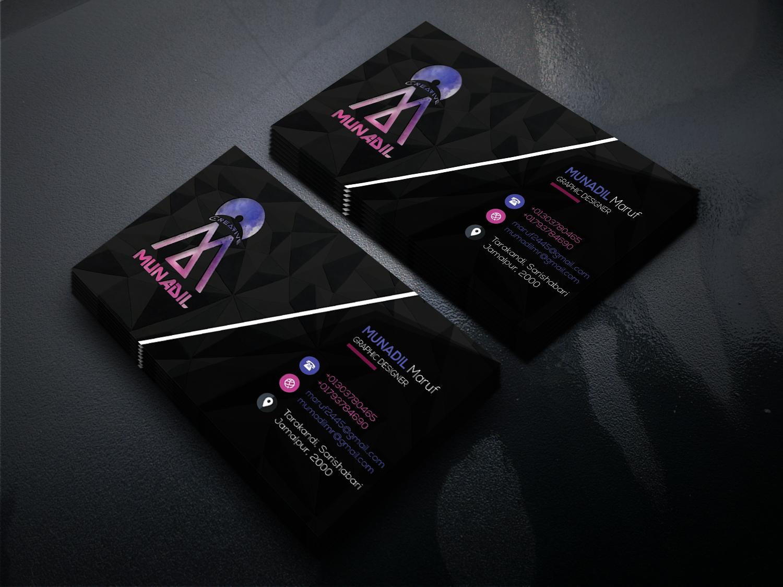 Design A Modern Eye Catching Business Card