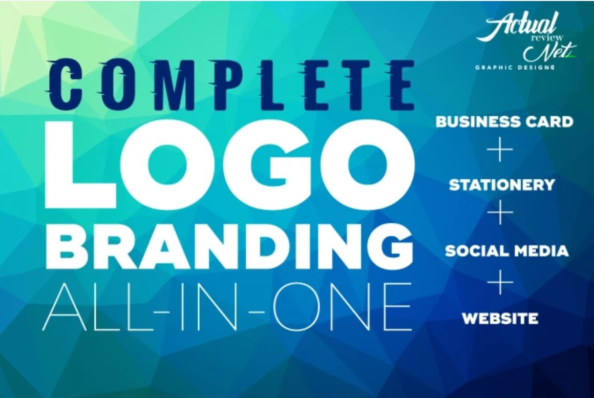 I will do a complete logo design branding for your business