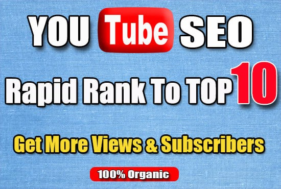 I will do professional organic top youtube video promote