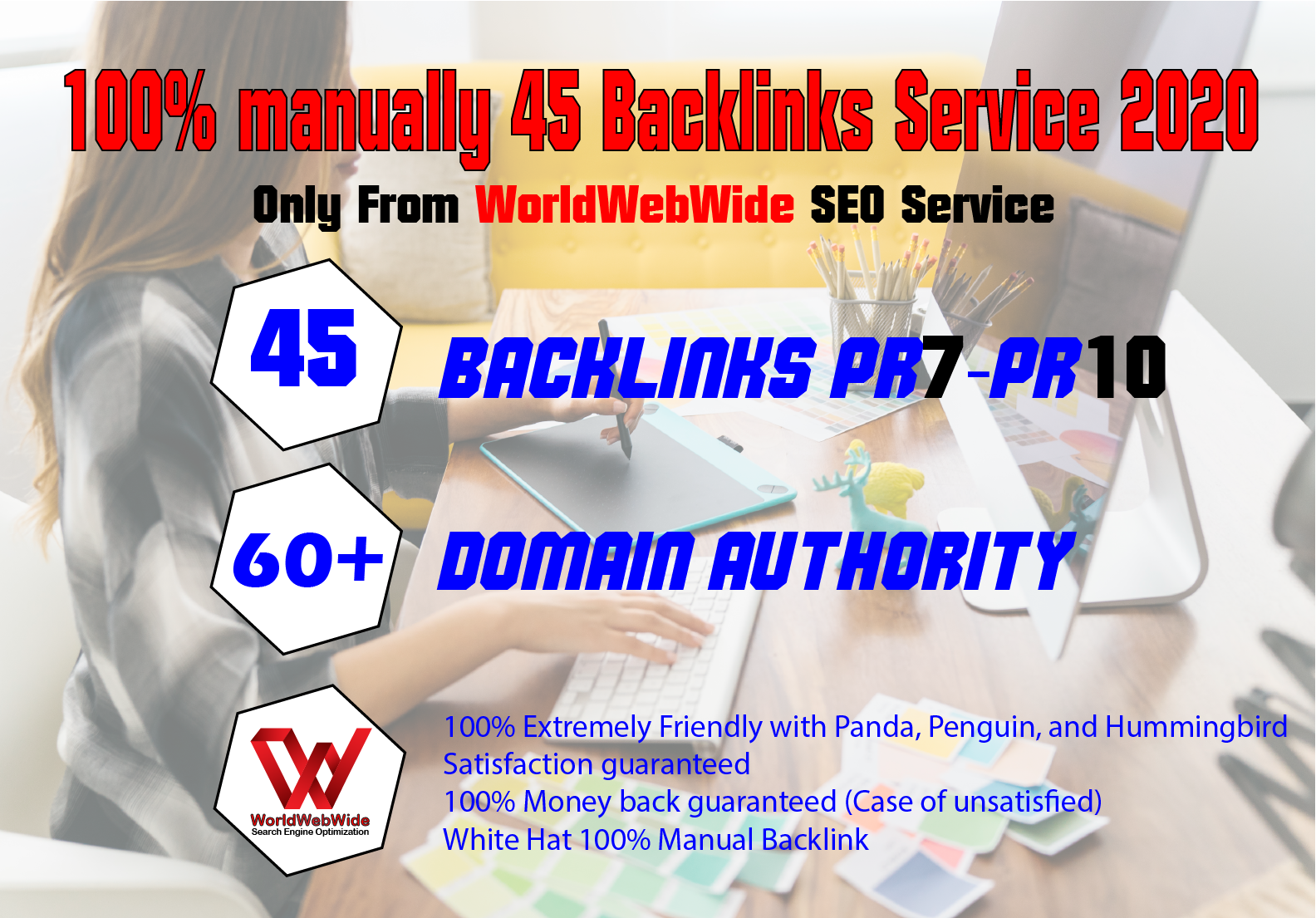 Create 45+ PR10 to PR7 Safe SEO Backlinks High Authority Site to Boost Your Google Ranking