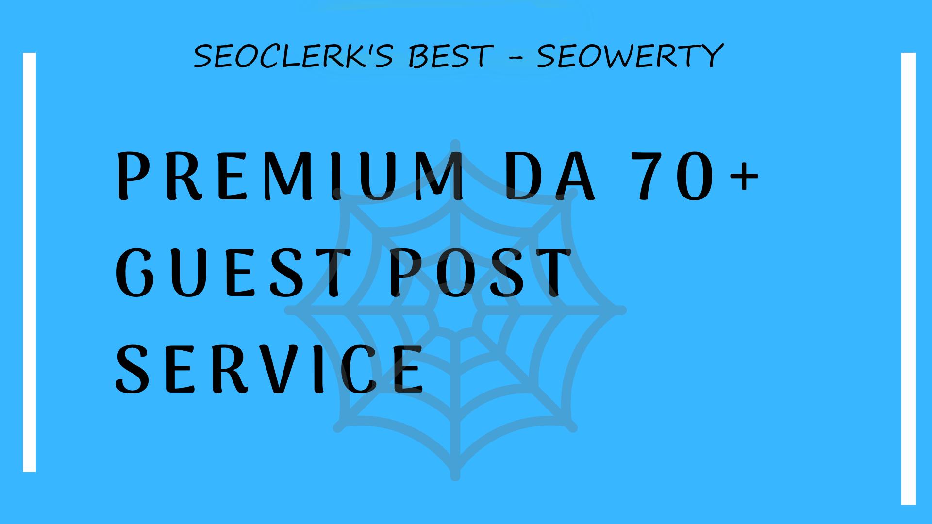 15 Premium DA 90 Guest Post Service - High Quality Content