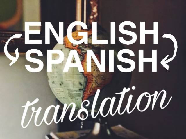 I will translate any article from English into Spanish.