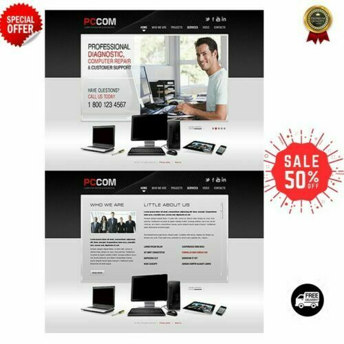 Shopify-Dropship-gadget-tech-website-established-business with 40 winning Products
