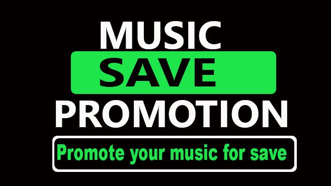 High quality Music promotion for saving track on audience profile