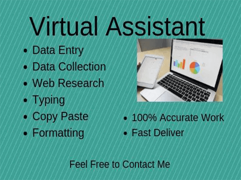 "6 years Experienced Virtual Assistant of ""Data Entry Work"" within 12 hours work"