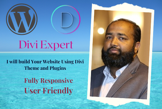 I can Design and Redesign your Website with Divi Theme and Premier Plugins