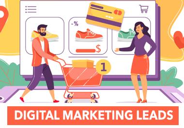 5000 Fresh Digital Marketing Leads Any Niche