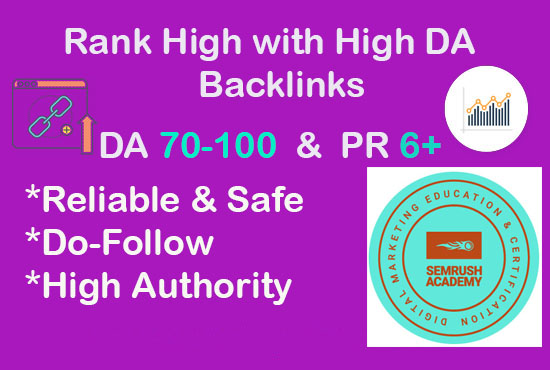 Elevate Your SEO Rankings with High DA Backlinks
