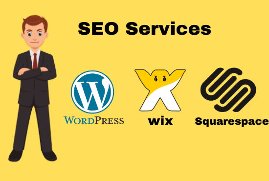 I will Give Seo Services For Wix,  Square Space and Wordpress Websites