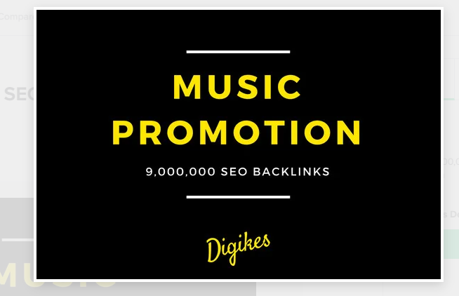I will do 10,000,00 SEO backlink for your music promotion