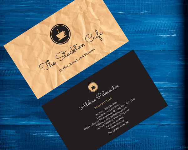 I will Design Professional Business Card & Visiting Card