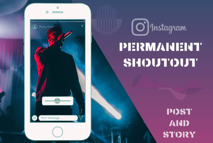 We will shoutout and promote music on our 50k instagram music page