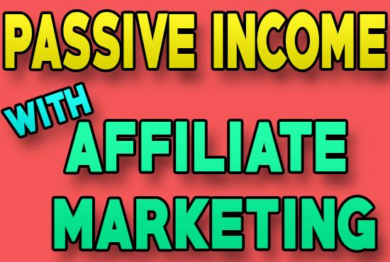 I will make money making machine using affiliate marketing