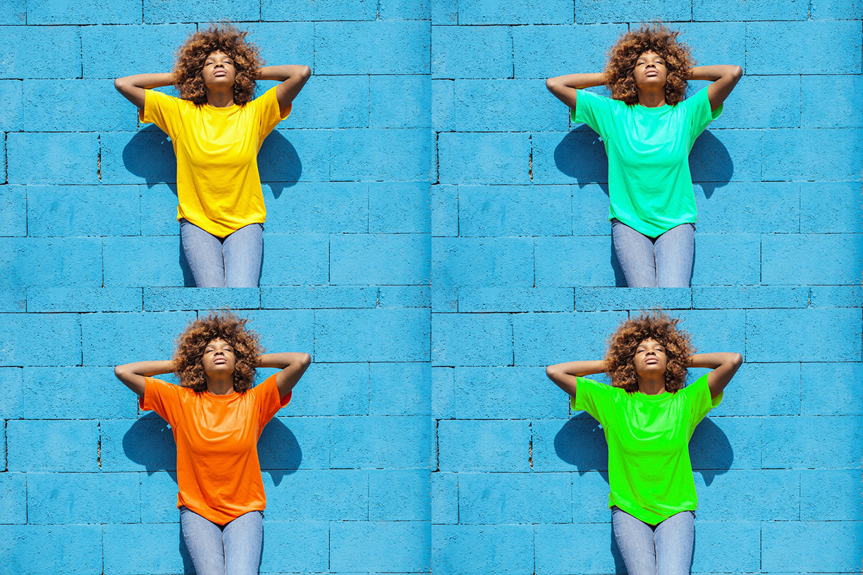 Change color of any image professionally
