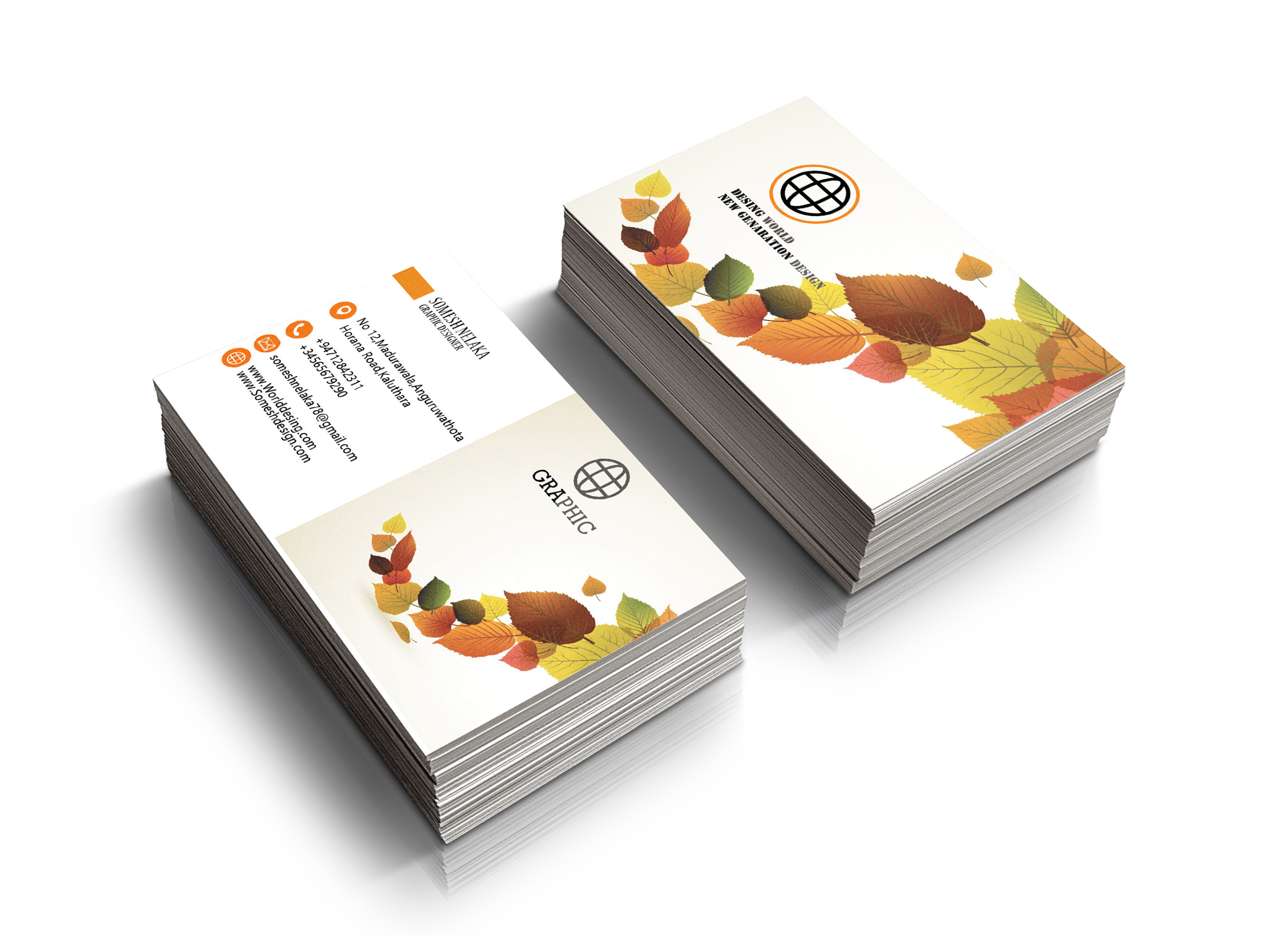 I will design craetive and professional business card