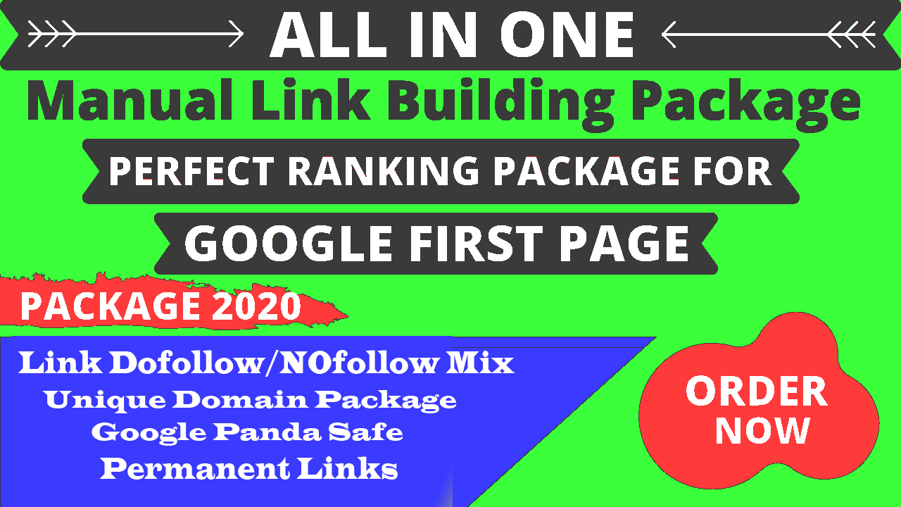 Monthly Manual SEO Link Building Service And Rank Your Website On Google 1st page