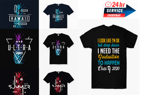 i will design all kind of tshirt designs