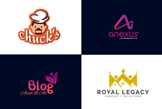 I will design 2 modern minimalist logo designs in 24 hours