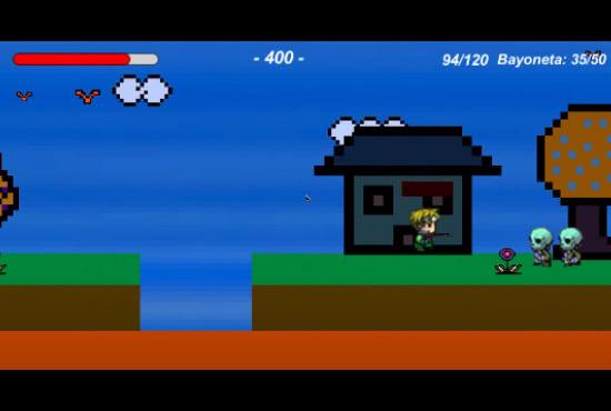 Develop a mini video game for you ESP