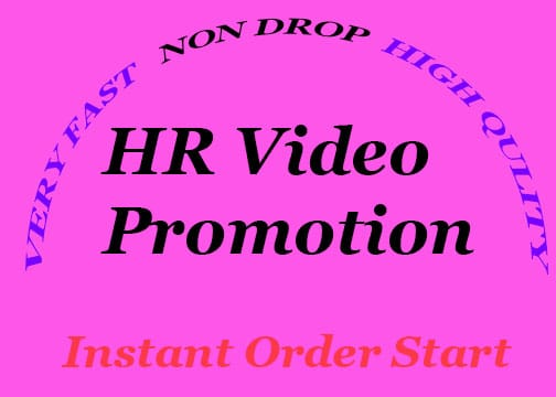 HR YouTube videos promotion and video marketing