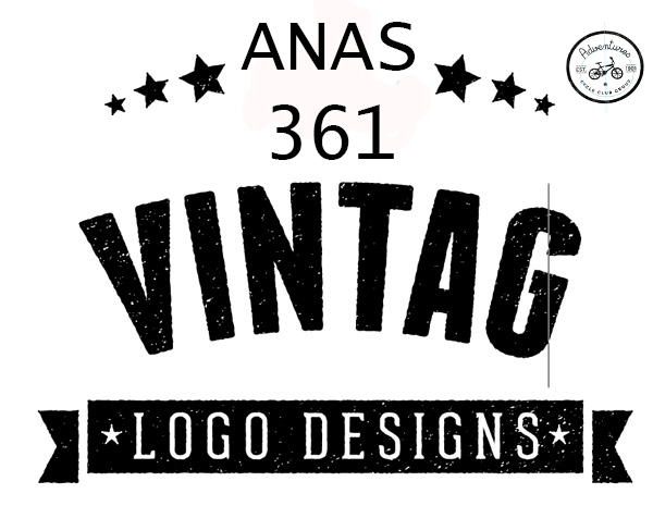 I will design a vintage or retro logo in low budget