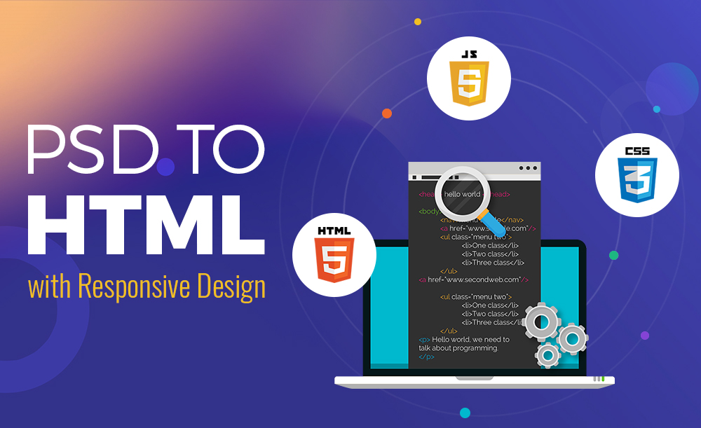 I will convert your PSD files to responsive HTML (Bootstrap)