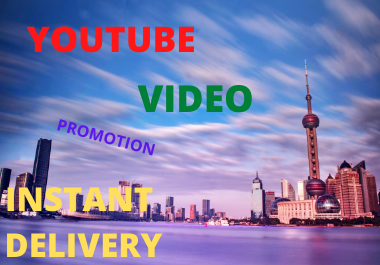 YouTube Video Marketing supper Fast package