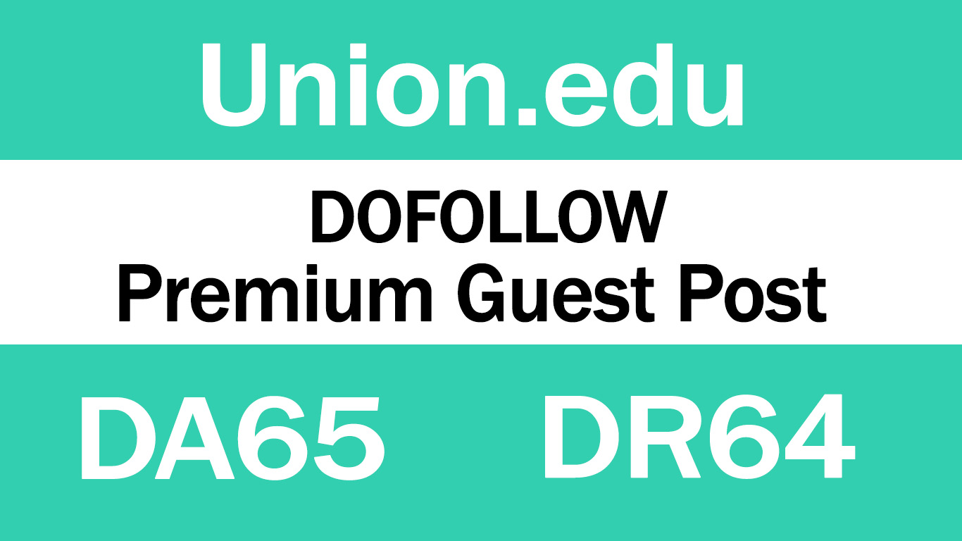Guest Post on Union College - DA65 DR64