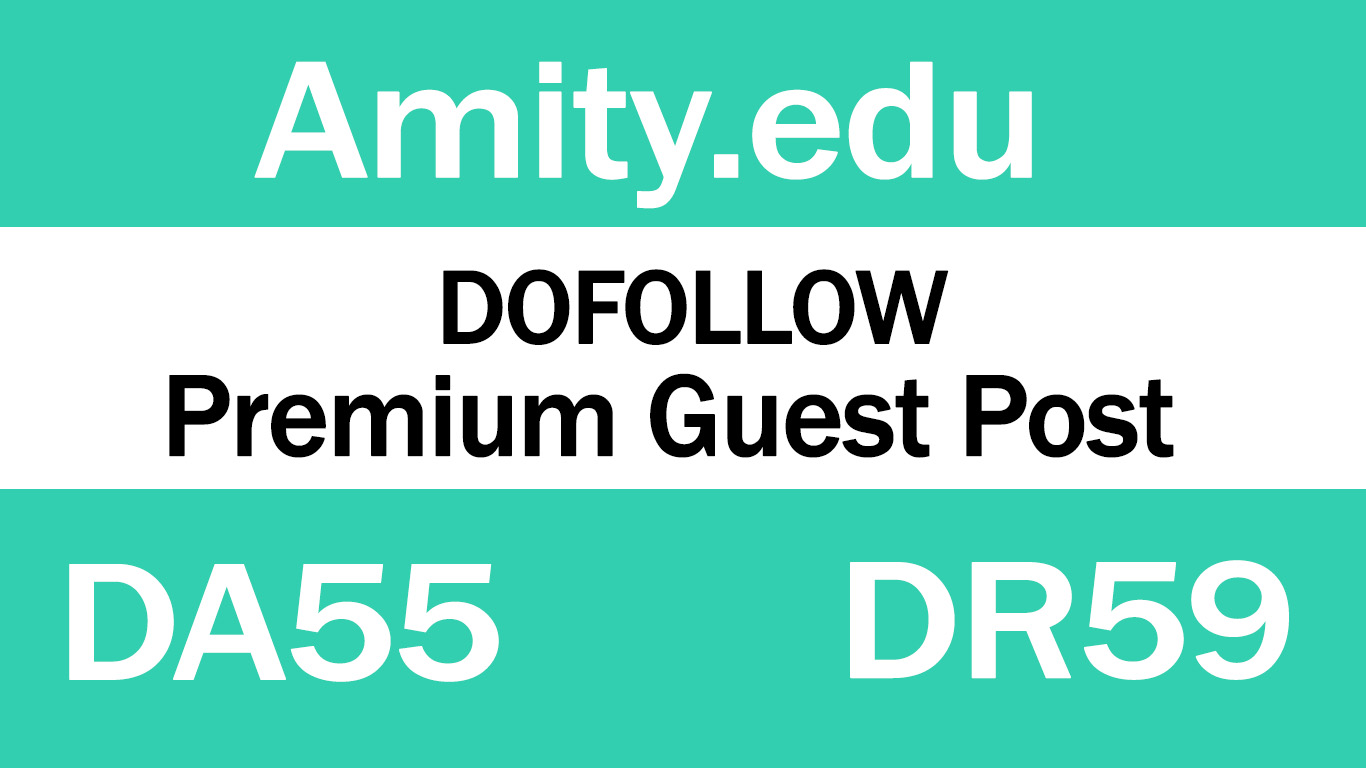 Guest Post on Amity University