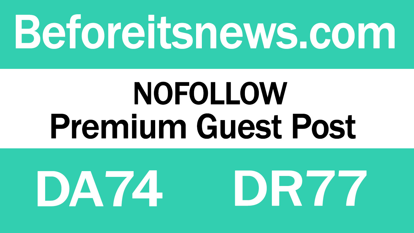 Publish Guest Post on Beforeitsnews. com - DA74