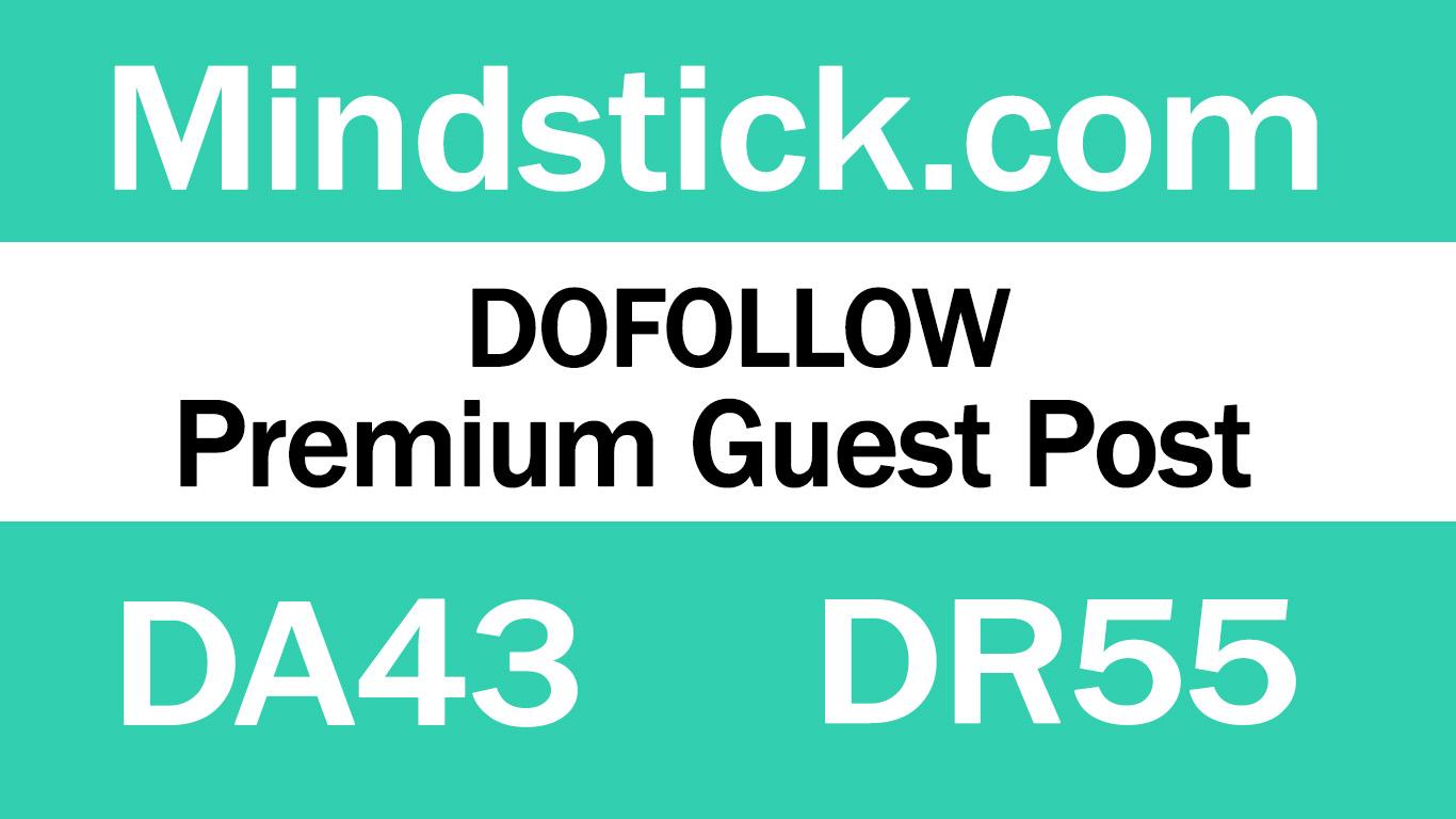 Guest Post On Mindstick. com DA43 DR55