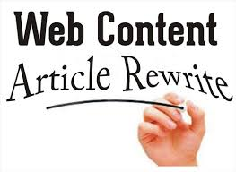 Make your Article Plagiarisms Free Unique without spinning and Rewrite