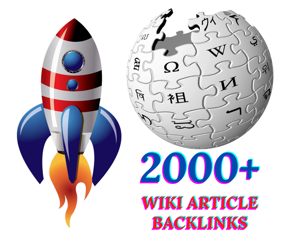 I Will Provide 2000+ Wiki Articles Backlinks