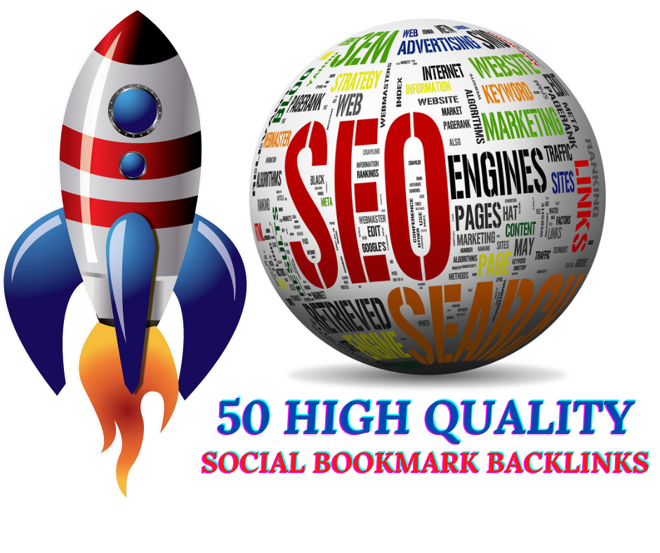 I Will Provide 50+ High Quality Social Bookmarks