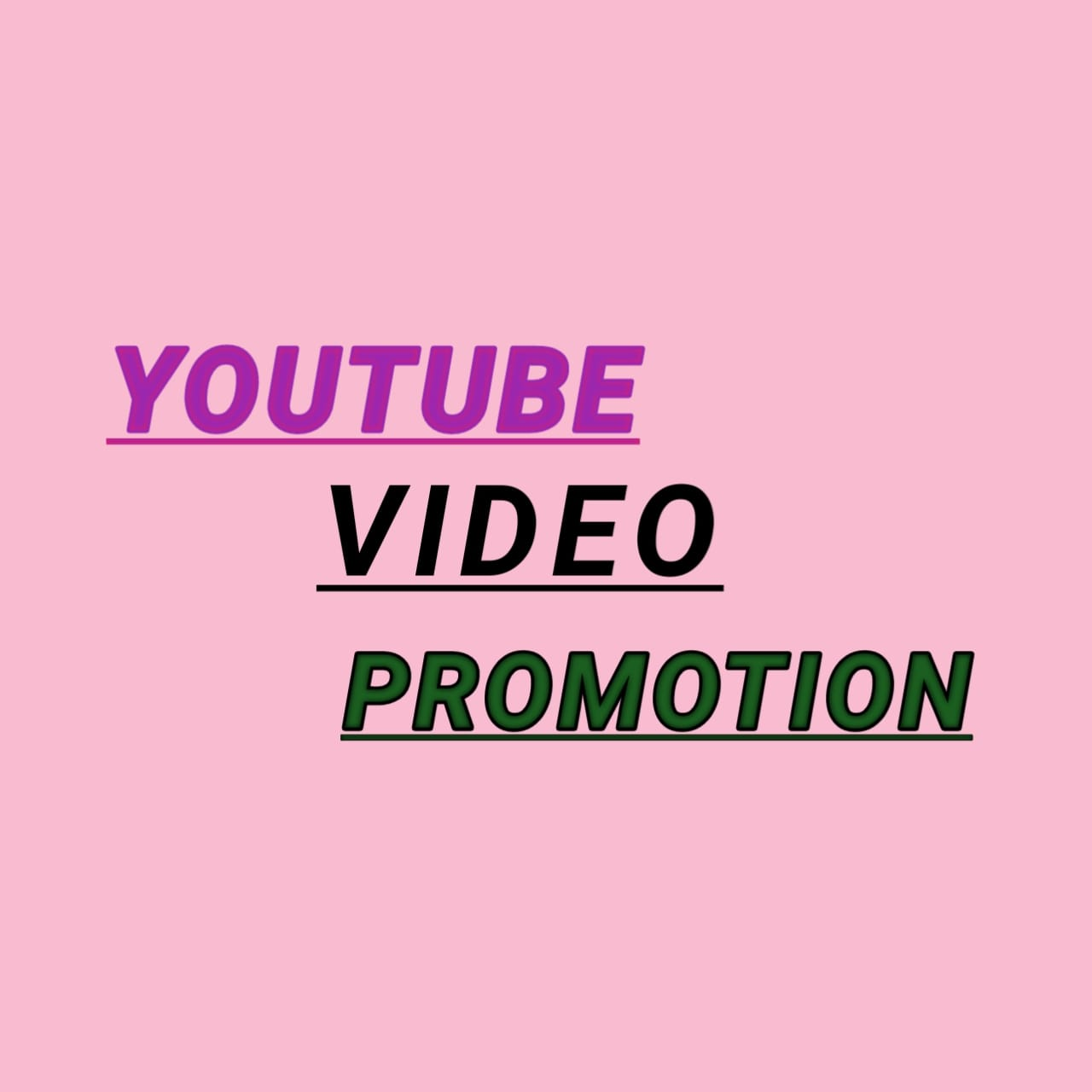 Provide Organic YouTube Promotion with Video Marketing