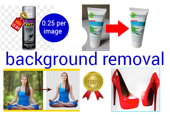 I will create clipping path and remove background 20 images