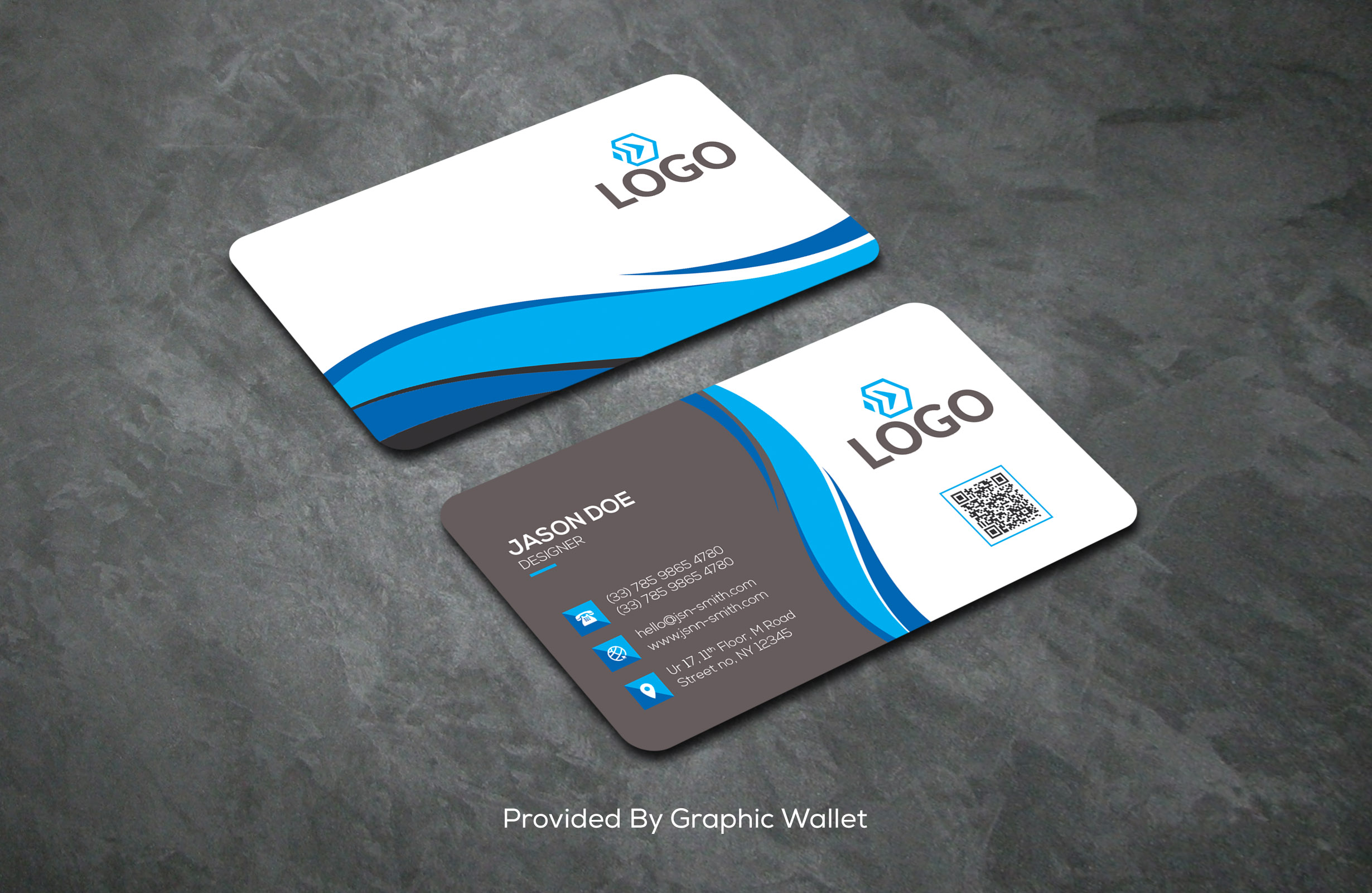 I will design awesome business card and brand identity