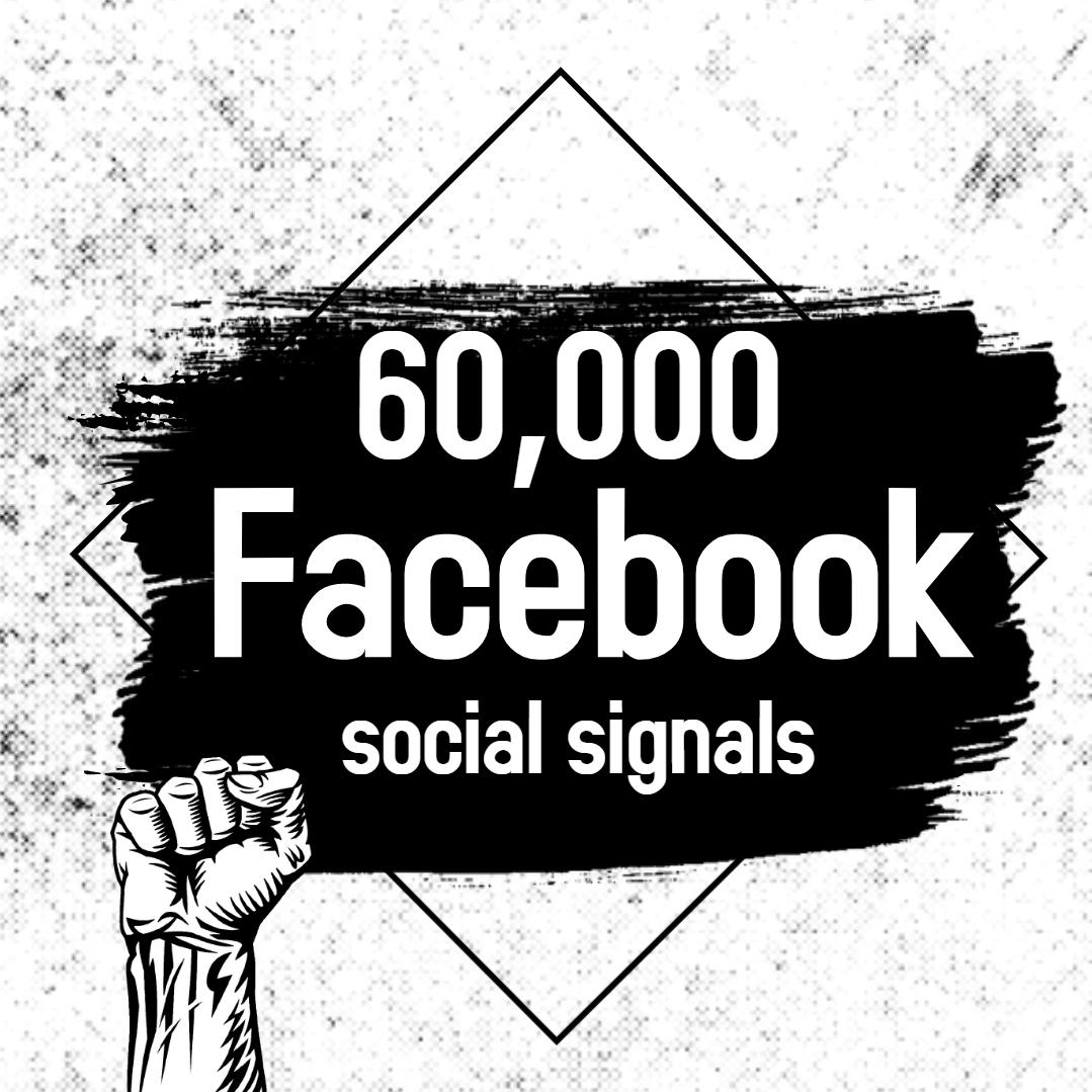 Powerful 60,000 Facebook Social Signals SEO Boost Google Ranking Bookmark Social