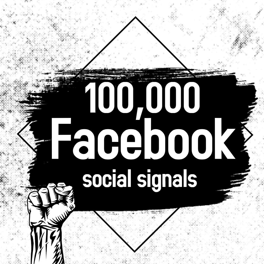 Powerful 100,000 Facebook Social Signals Boost Google Ranking Bookmark Social
