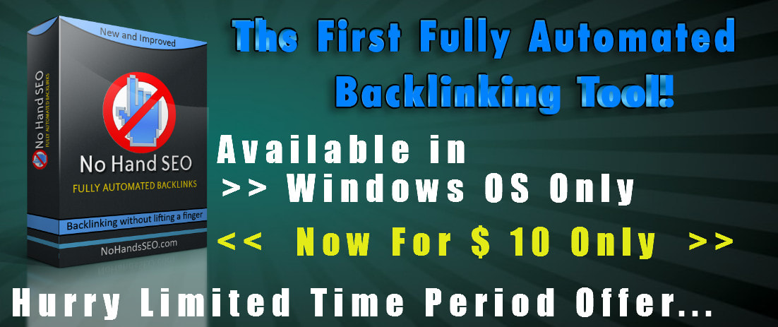 No Hand Seo fully automated Backlinks bot software for websites high Backlinks