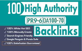 Do 100 high da USA pr9 profile backlinks manually