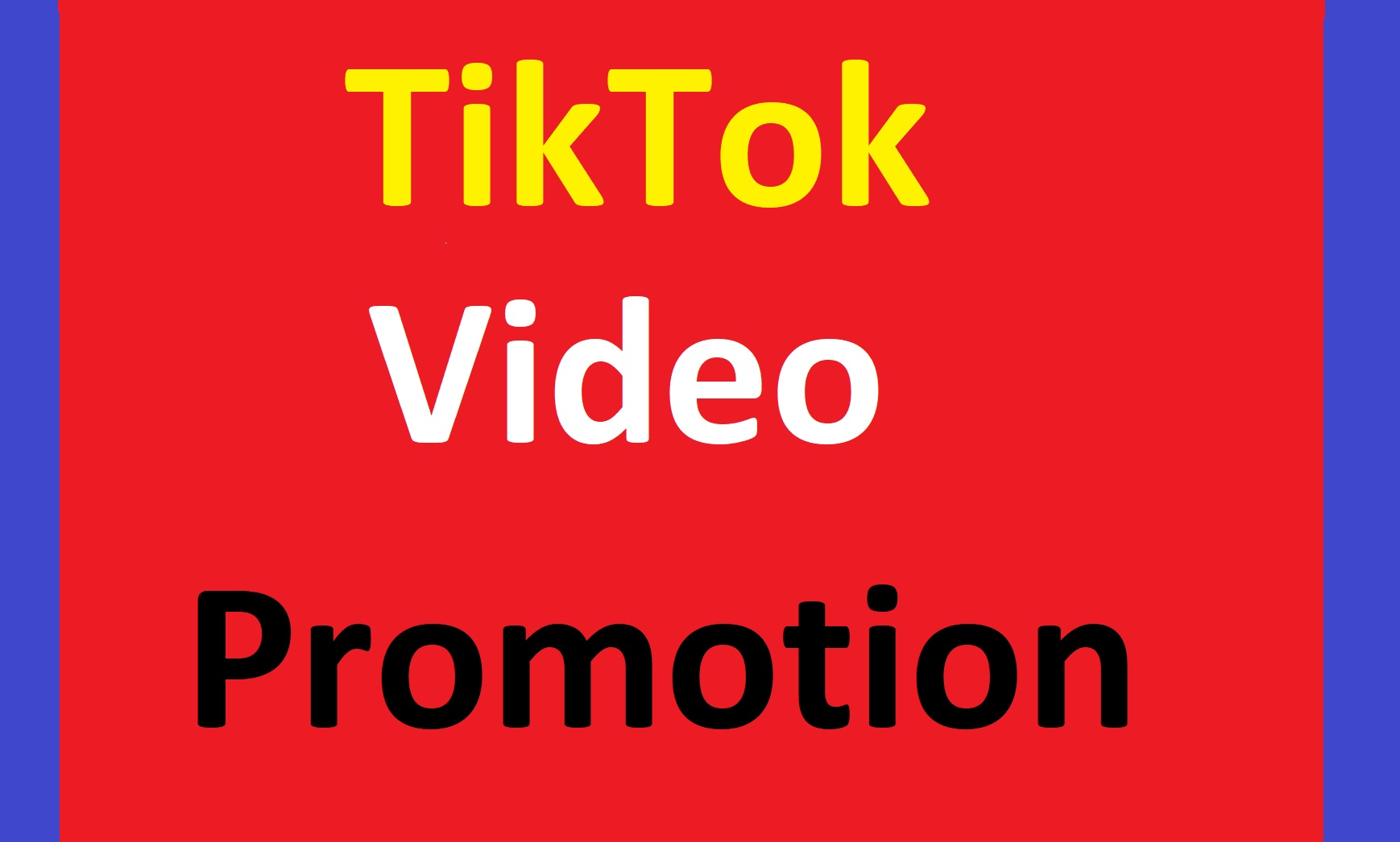 Tik tok Video and account promotion. Tiktok all users Come Here Fast.