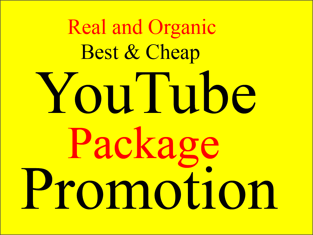 Instant Perfectly Youtube Package Promotion
