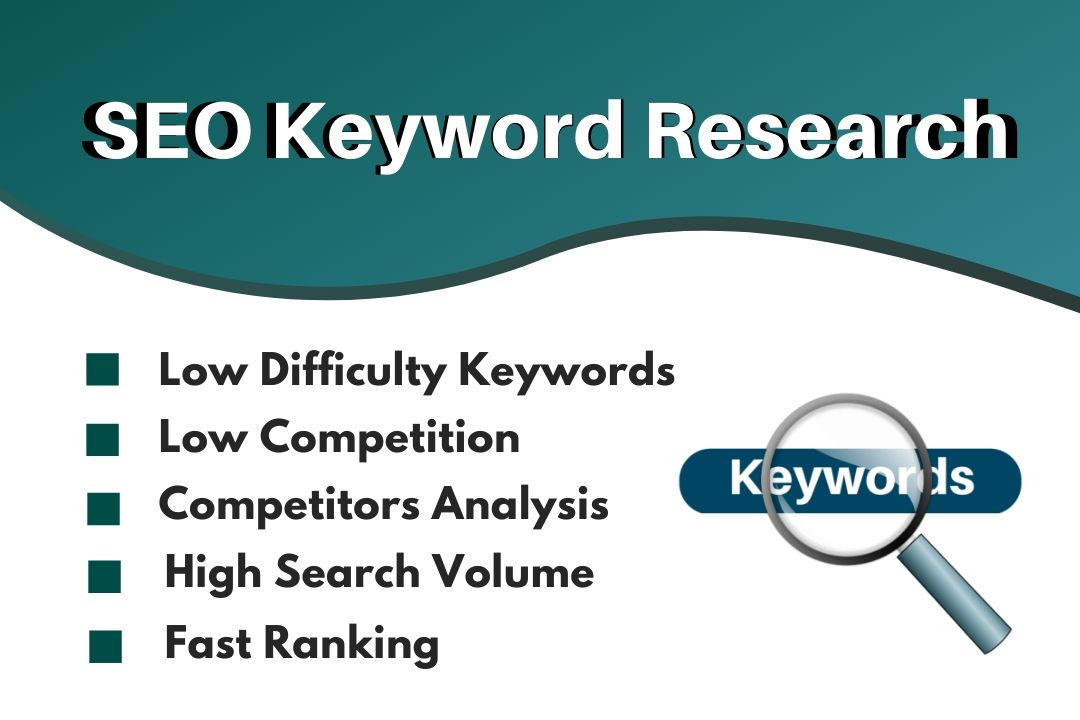 Professional SEO Keyword Research and Fast 1st Page Ranking