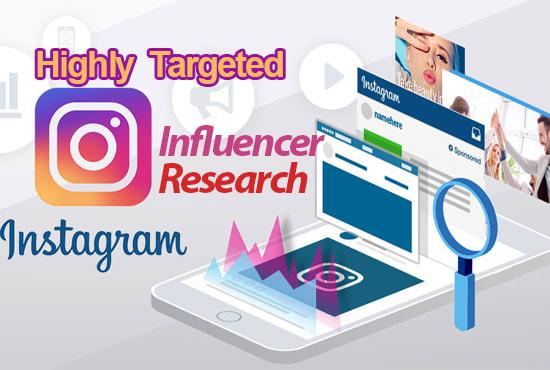 find best Influencer for Instagram