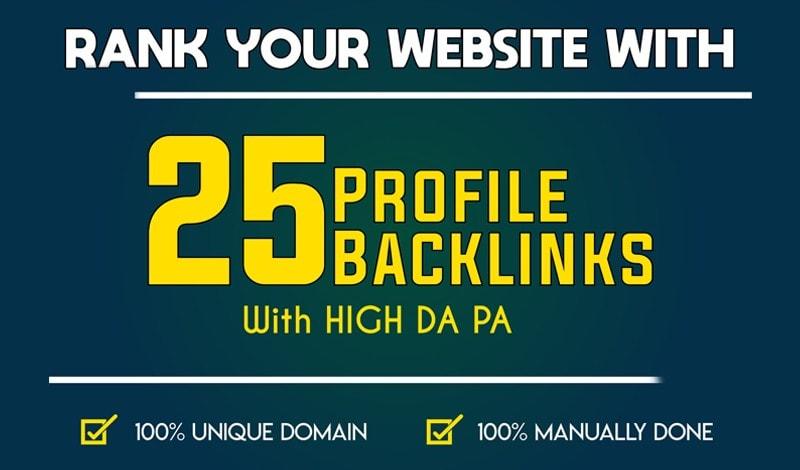 Manually DA80+ All PR9 25 Safe High authority Backlinks